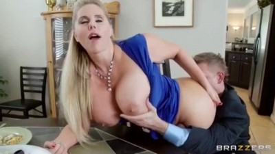 Horny guy fucks his best friend's Stepmother.