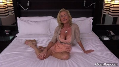 Big Boobs Cougar Slut Fucks POV