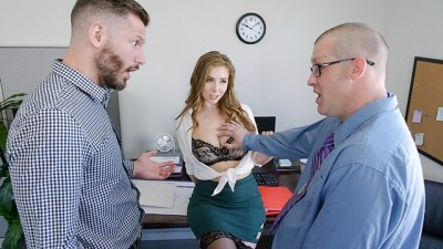Lena Paul Fucked In The Office