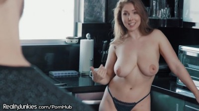 Busty Hot Step-Sister Lena Paul Loves Bro Cock
