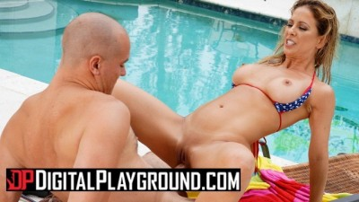 Hottie Milf Cherie Deville takes big Cock in outdoors - Digital Playground