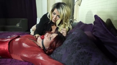 red latex tortures women while sleeping