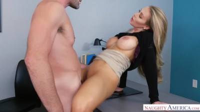 Naughty Fucked Escape in the office