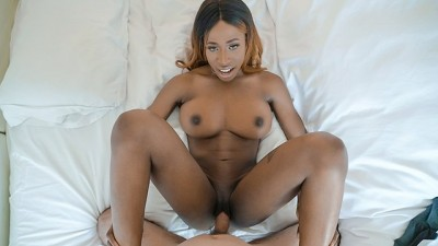 BlackValleyGirls - Super Hot Ebony Babe Gets Fucked on the Job