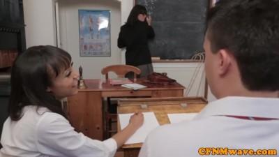 Dominant School Teacher Stephanie Blows