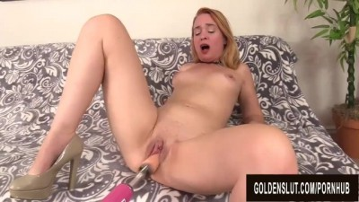 Attractive Mature Sable Renae Mercilessly Plowed Machine Cumshot
