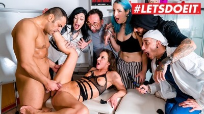 Hot PornStar Abused in Kinky Bondage Party