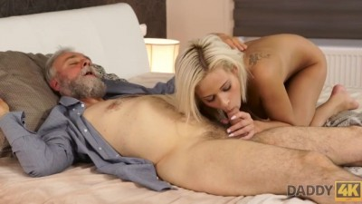 Young Sex Experiment is a Birthday Gift for Blonde