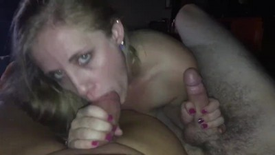 Craigslist Cuckold Couple Met me for Double Blowjob Blonde