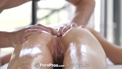 Dripping oiled down massage POUNDING
