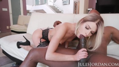 Jules Jordan - Emma Hix Has a BBC Stuck In Her Throat