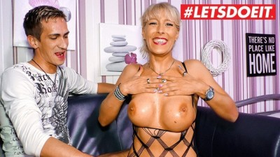 Stunning German Milf Has Her First Sex Tape With Horny Step Son
